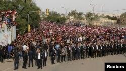 Pamje nga një protestë e mëhershme, Mars 2016