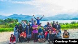 Малайзия студентлары белән