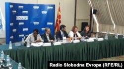 Презентација на извештајот на ОБСЕ за работата на СЈО