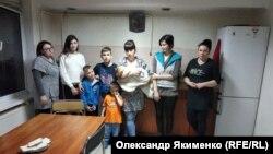 Київська область, с. Рогозів, переселенці у гуртожитку, який відсудив банк. 12 лютого 2019 року