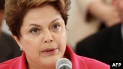 Brazilian President Dilma Rousseff (file photo)