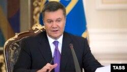 Украина президенті Виктор Янукович. Киев, 19 желтоқсан 2013 жыл.