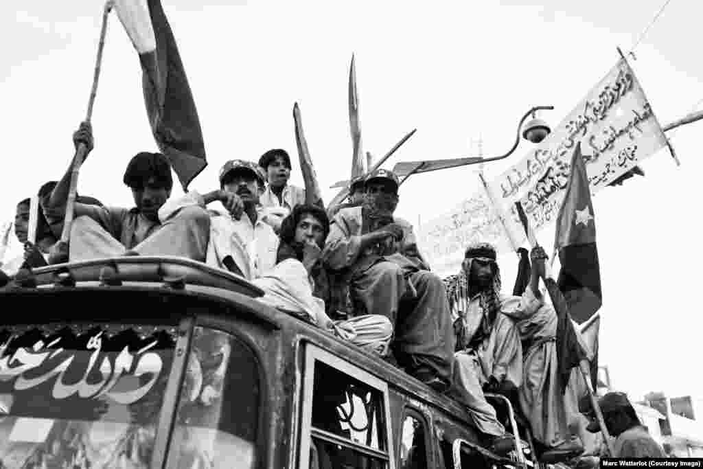 A rally in Quetta to mark the day in 1948 when Pakistan annexed a short-lived independent Baloch state.
