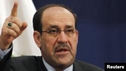 نوری مالکی، نخست وزیر عراق، میگوید دولت عراق تاکنون هیچ اقدامی علیه مجاهدین خلق نکرده است، چه در پایگاه اشرف و چه در پایگاههای دیگر.