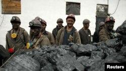 Гірники шахти у Макіївці, архівне фото