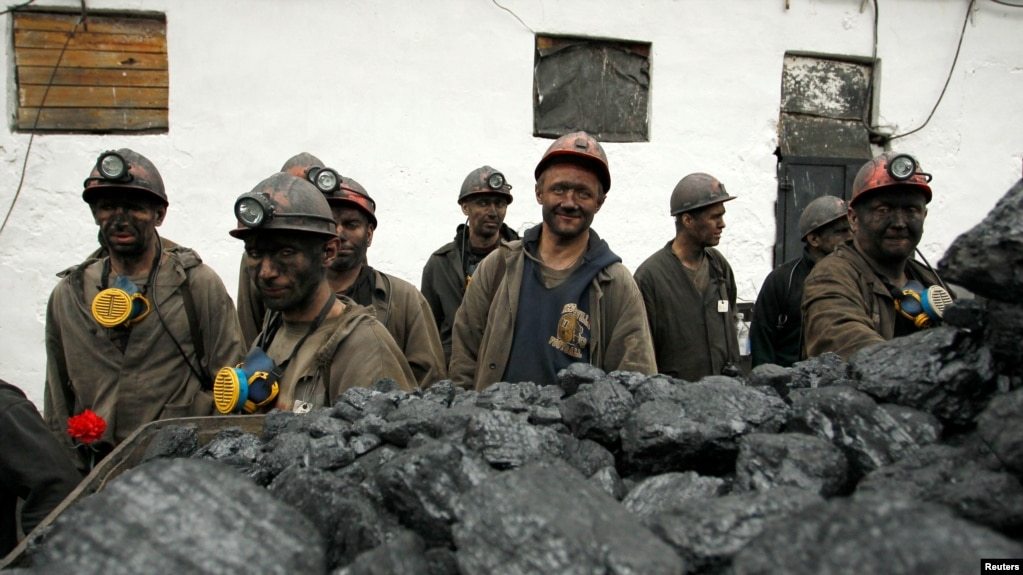Ukraine has been struggling to produce coal because Russia-backed separatist forces control much of the coal-rich region in the east of the country. (file photo)