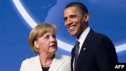U.S. officials say the honor is a sign of the close working relationship that President Barack Obama has formed with German Chancellor Angela Merkel.