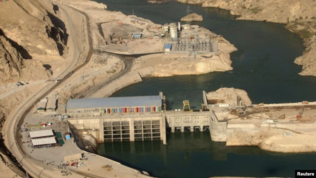 Tajikistan's Sangtuda-2 hydroelectric power plant, one of the components in the CASA-1000 energy-sharing project.