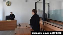 Облыстық ІІД басшысының орынбасары Алтай Аңшыбаевтың соты. Ақтөбе, 17 мамыр 2018 жыл