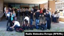 Macedonia -- Supreme Court in Skopje, trial Divo Naselje