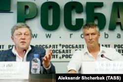 Евгений Ройзман и Григорий Явлинский