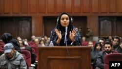 Выступление Рейхане Джаббари в суде в 2008 году