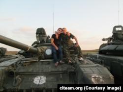 Танк Т-72Б3 6-ї окремої танкової бригади (Нижегородська область, Муліно)