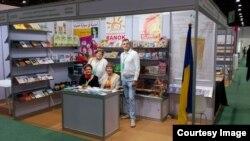 Український стенд в Абу-Дабі