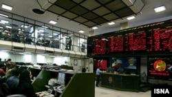 نمایی از بازار سهام تهران