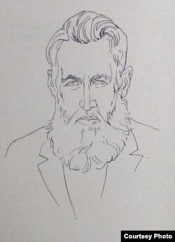 Уладзімер Дубоўка. 1970 г. (Нац. бібл. Беларусі)