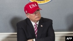 претседателот на САД Доналд Трамп