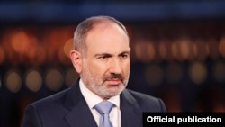 Премьер-министр Армении Никол Пашинян (архив)