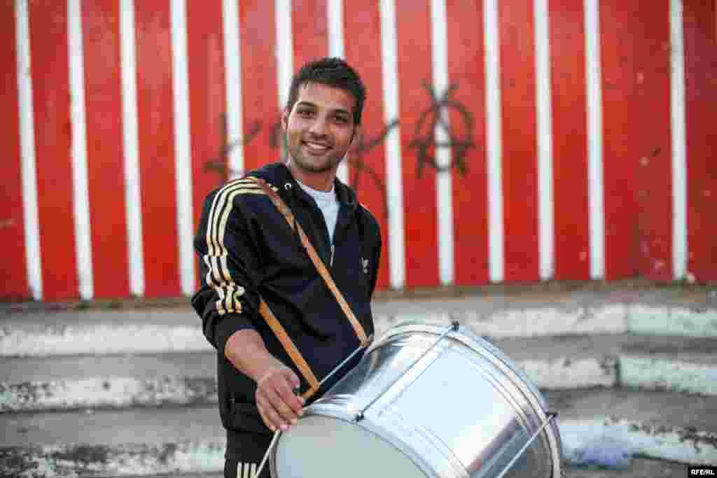 The Drummers Of Macedonia's Semka Band #4