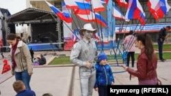 Заходи на честь річниці «кримської весни» в Сімферополі. 18 березня 2018 року