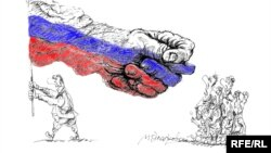 Caricatură de Mihail Zlatkovsky