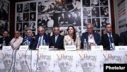 Մրցույթի մեկնարկի առիթով հրավիրված մամուլի ասուլիսը: 6-ը հունիսի, 2016 թ․