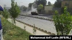 Кабулдағы жарылыс болған жер. Ауғанстан, 11 қазан 2015 жыл.