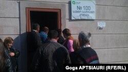 მე-100 საარჩევნო უბანი გორში