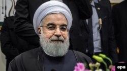 Иран президенті Хассан Роухани. Париж, 27 қаңтар 2016 жыл.