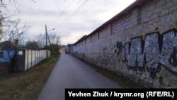 Переулок Новикова на 10-м километре Балаклавского шоссе
