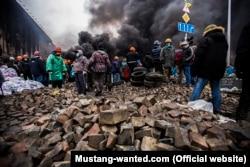 Майдан, 20 лютого 2014, фотографія Мустанга