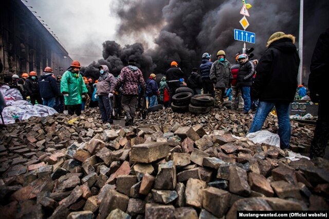 Майдан, 20 февраля 2014. Фотография Мустанга