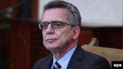 Германия ішкі істер министрі Томас де Мезьер.