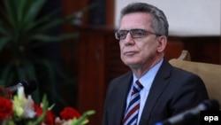 Thomas de Maiziere, njemački ministar unutrašnjih poslova