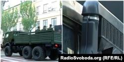 КамАЗ-5350 сімейства «Мустанг» з модифікованою системою подачі повітря