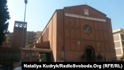 Церква святої Марії Ґоретті у Римі, де також збиратимуть допомогу для України