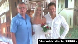 Slobodan Jakšić sa Anom i Ilijom Kangrgom