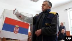 Në fshatin Grabovc, 14 shkurt 2012.