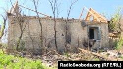 Наслідки обстрілів у селищі Жованка Бахмутського району Донеччини