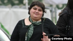 """Khadija Ismayilova: """"No matter what they pour on me, no matter what kind of disgusting measures they take against me, it doesn't stop me."""""""