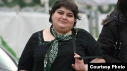 Журналист Хадиджа Исмаилова.