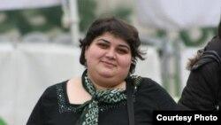 Журналистка азербайджанской службы Радио Свобода Хадиджа Исмаилова