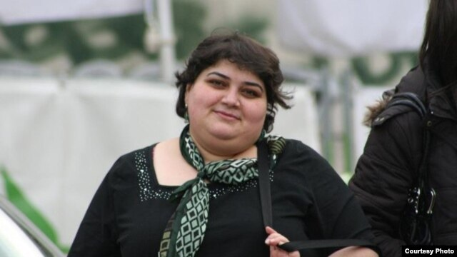 Journalist Khadija Ismayilova, pictured here in Baku in February, has made a name for herself as a fearless investigator of official corruption in Azerbaijan.