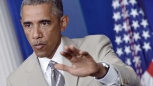 Президент США Барак Обама, 28 серпня 2014 року