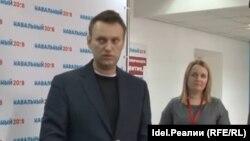 Алексей Навальный встречается с самарцами в своем самарском штабе 3 марта 2017 года