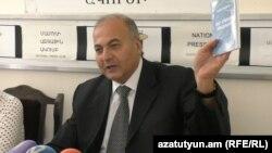 Виктор Даллакян на пресс-конференции, Ереван, 11 октября 2016 г.