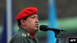 هوگو چاوز، رییس جمهوری ونزوئلا.