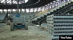 «Baku Crystal Hall»un tikintisi