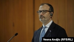 Shefi i Delegacionit të Bashkimit Evropian në Serbi, Sem Fabrizi.