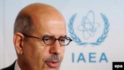 محمد البرادعی مديرکل آژانس بين المللی انرژی اتمی می گوید راه حل نظامی برای مساله اتمی ایران«دیوانگی» است